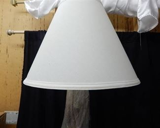 Vintage Porcelain & Metal Lamp
