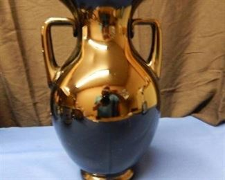 Black Urn Style Vase