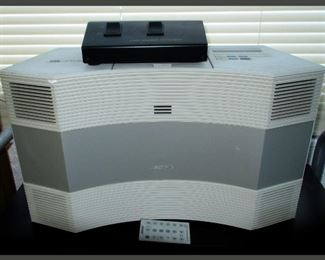 Bose Acoustic Wave System with Remote