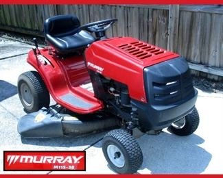 Murray M115-38 Riding Lawn Mower in Excellent Running Order