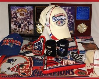 New England Patriot Items