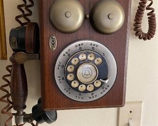 Vintage telephone replica