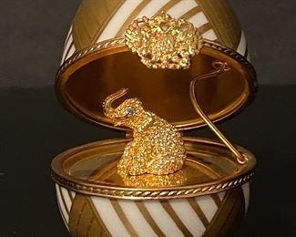 Faberge Egg with Elephant