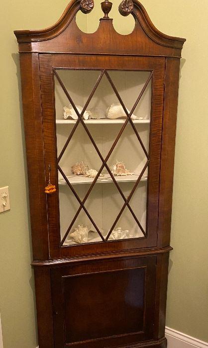 Lot #1-$450- Corner cabinet