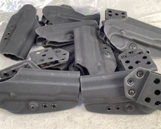 Mfg - 10 G-Code 1911 Belt Model - slide holsters Located in Chattanooga, TN Condition - 3 - Light Wear This lot contains 10 G-Code 1911 belt slide holsters. Belt loop is cant adjustable.