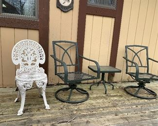 More outside patio furniture