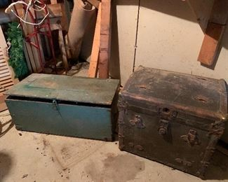 Old Trunks tool chest