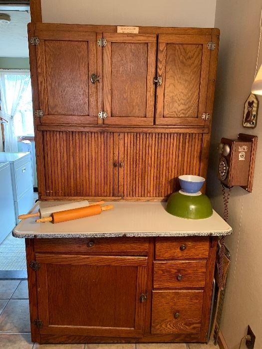 Original Hoosier Bakers Cabinet