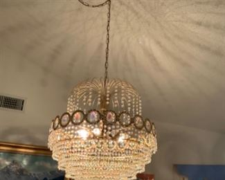 This chandelier is from Italy   It's beautiful!