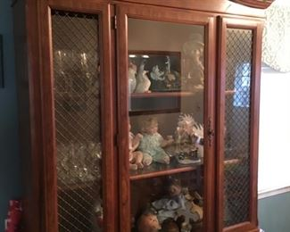 Handsome or Beautiful China Cabinet