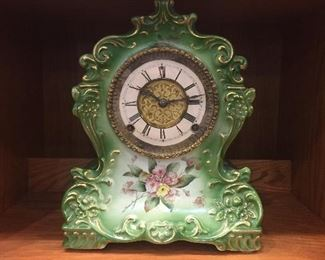 Old french clock (American movement) very nice!
