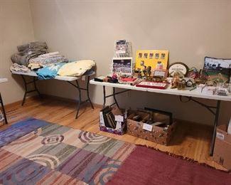 Cardinals Baseball and Blues memorabilia  Blankets & Throws Area Rug