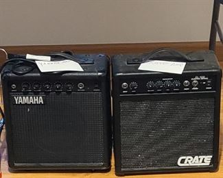 Yamaha AMP Crate AMP