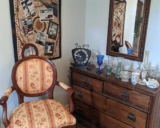 Fine furniture, wall hangings, decor, knick knacks, antiques
