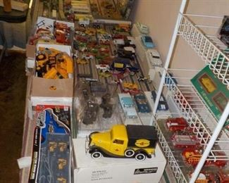 Lots and lots of Die Cast items