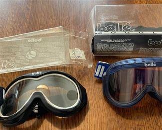 $45.00.......................2 Bolle Ski Goggles (B889)