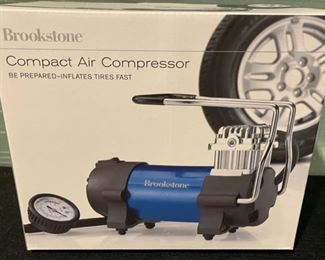 $30.00...............Brookstone Compact Air Compressor (B729)