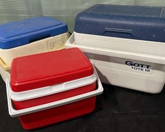 $6.00...................3 Smaller Coolers (B724)