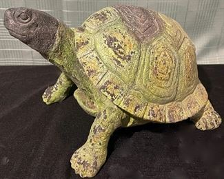 "$16.00................Yard Turtle 9"" tall (B714)"