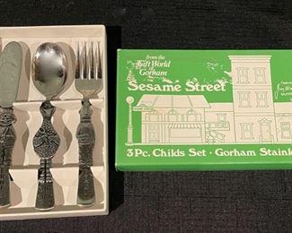 $12.00..............Sesame Street Silverware Set (B705)