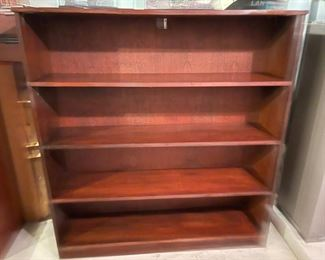 "$45.00......................Pair of Bookcases one not pictured 48"" x 11"", 52"" tall (B686)"