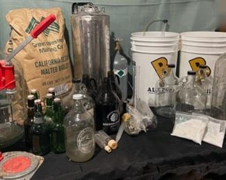 $80.00......................Beer Making Lot (B696)