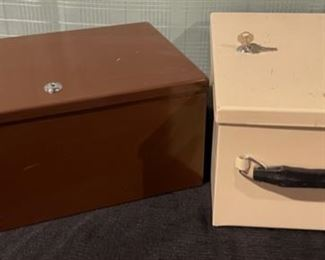 $20.00.......................Set of 2 Lock Boxes with Keys (B666)
