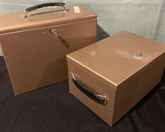 $20.00................Set of 2 Lock Boxes with keys (B667)