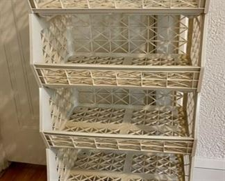 $12.00..........................Set of 5 Stacking Baskets (B906)
