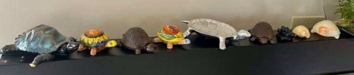 $20.00............................8 Turtles & 1 Frog (B019)