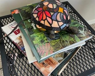 $16.00.................Turtle Lamp and Gardening Books (B028)