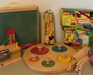 $80.00...................Vintage Brio Toys cars and signs in next picture (B049)(B074)