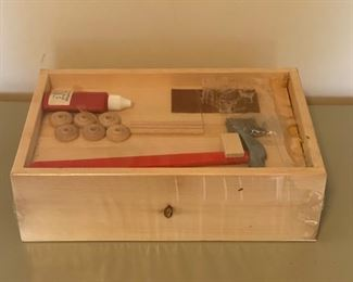 $16.00.................Wooden Toy Tool Box kit  (B046)