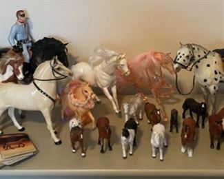 $50.00.......................Toy Horses (B056)