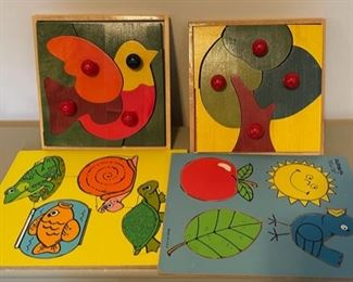 $20.00..............Wooden Children's Puzzles (B063)