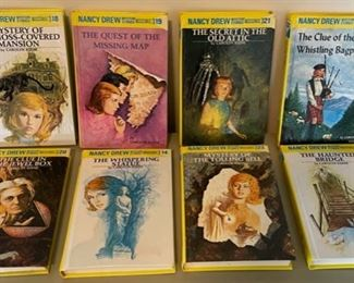 $40.00.......................8 Vintage Nancy Drew Books (B070)