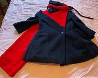 $24.00....................Vintage Wool Children's Jacket/Slacks and Hat (B076)