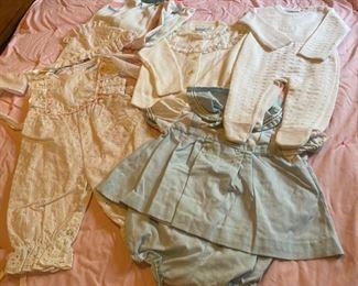 $16.00...................Vintage Baby Clothing (B077)