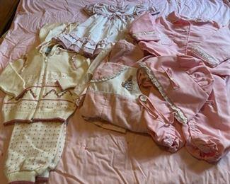 $16.00......................Vintage Baby Clothing (B078)
