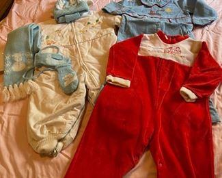 $16.00....................Vintage Baby Clothing (B080)