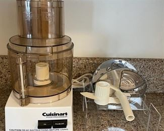 $25.00......................Cuisinart Food Processor (B118)