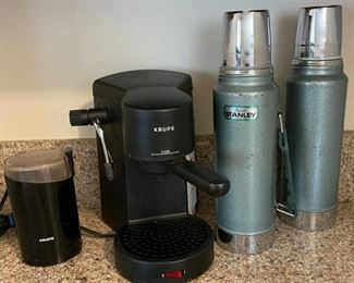 $10.00................Coffee Grinder, Stanley Thermoses and more (B117)