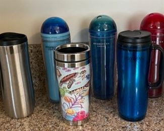 $10.00......................Travel Mugs lot (B136)
