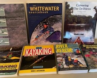 $25.00.....................Kayaking and River Books (B147)