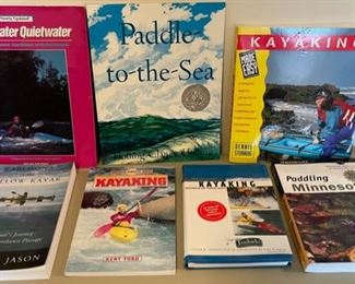 $25.00.......................Kayaking Books and more (B148)