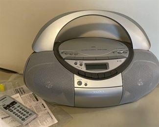 $40.00.................Sony CD Player/Radio (B154)