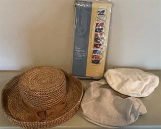 $12.00................Women's Hats and Shoe Organizer (B162)