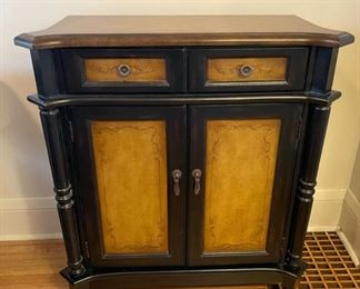 "$125.00................Two Toned Cabinet 29 1/2"" x 14"", 33"" tall (B169)"