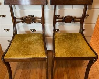 $40.00.........................Pair Vintage Chairs (B170)