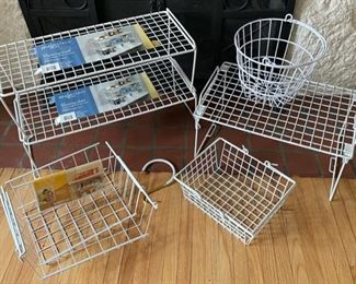 $12.00.......................Storage Baskets lot (B185)